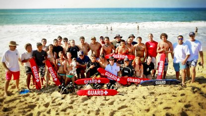 A large group of local surfers have taken lifeguard training courses on Sayulita Beach