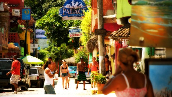 Sayulita is a small town