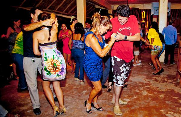 Socializing Nightlife Sayulita Beach