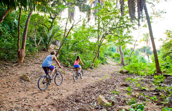 Biking in Sayulita